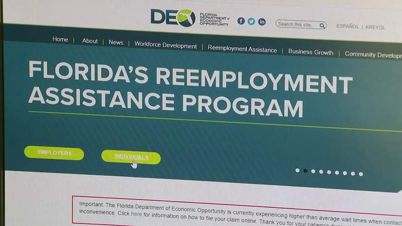 State of Florida makes applying for unemployment benefits relatively easy