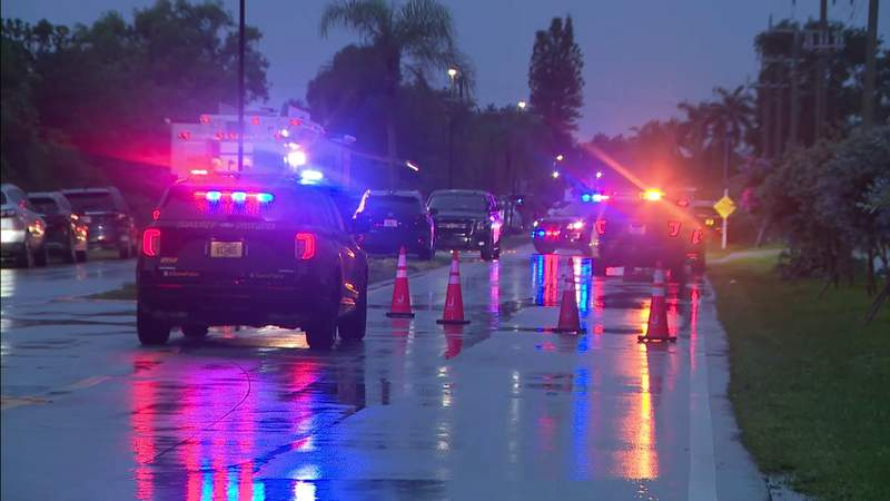 Suspect injured after police involved shooting in Davie