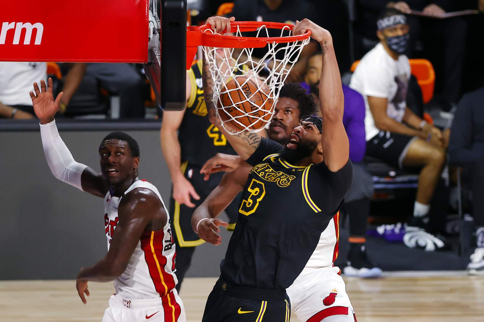Heat Fall Into 0 2 Hole To Lebron And Lakers In Nba Finals