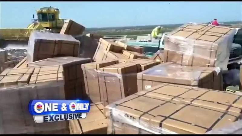 Video shows hundreds of ventilators dumped in Miami-Dade landfill