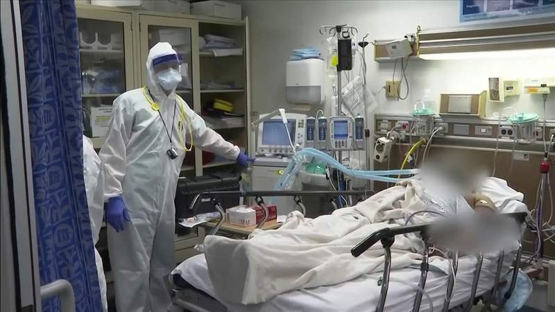 Doctors say COVID-19 surging could threaten hospital capacity