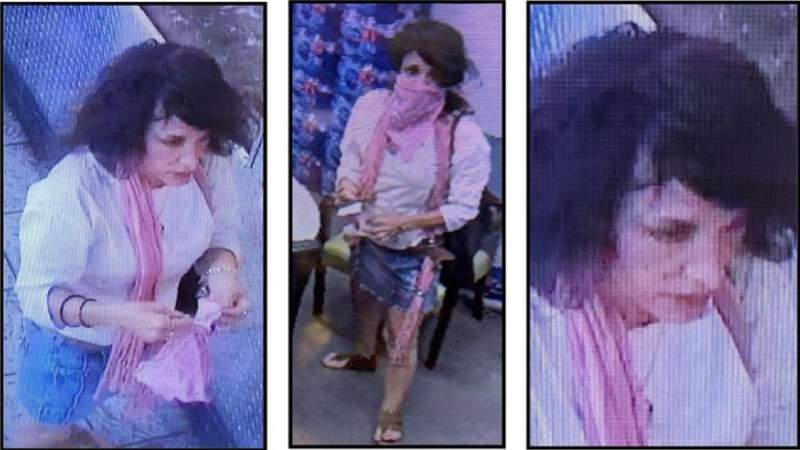 Police want to question this woman in regards to a firearm theft in Davie.