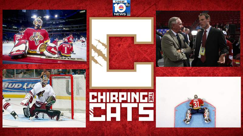 Former Florida Panthers goalie Sean Burke joined the Chirping the Cats podcast.