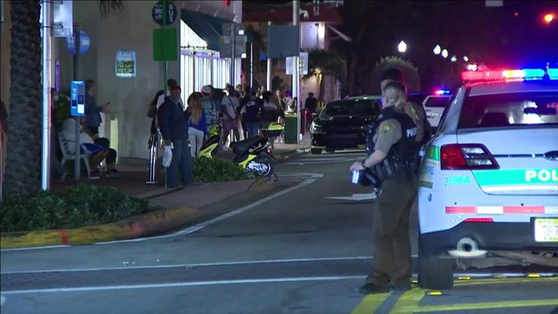 South Beach weekend busy for Miami Beach police keeping spring breakers under control