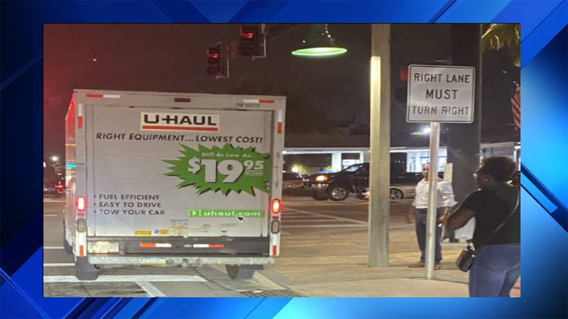 U Haul hit-and-run in Lauderdale-by-the-Sea