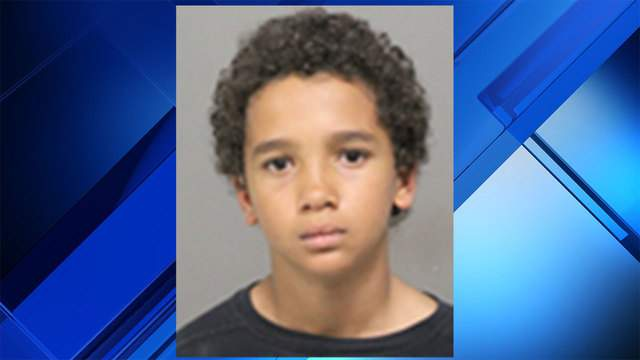 Justin Williams, 11, was reported missing.