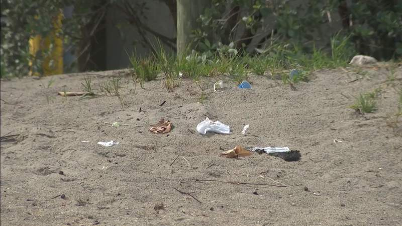 Plastic is becoming a major issue for Broward County's beautiful beaches