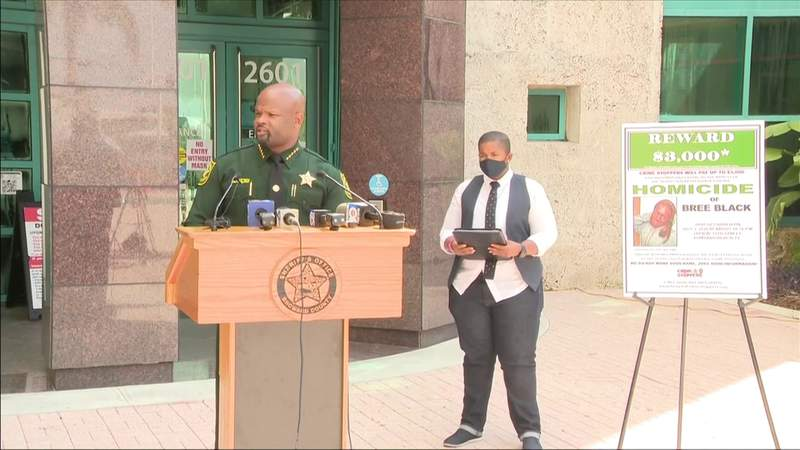Sheriff: Silence is standing in the way of justice for Bree Black