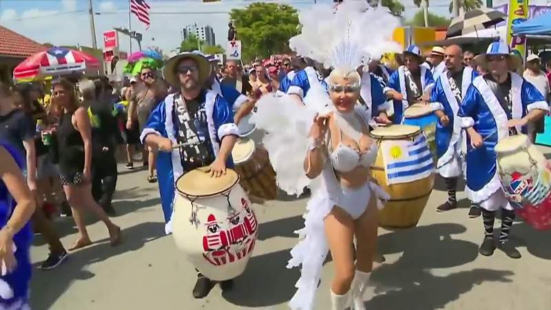 Miami missed out on a traditional Calle Ocho this year, but a virtual music festival will take place Sunday.