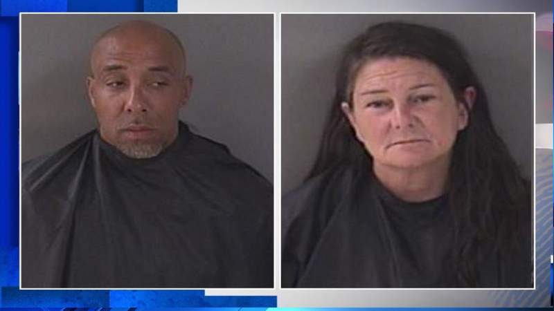 Two people arrested after Florida police say they caught them in act in children's crawling tunnel in Vero Beach