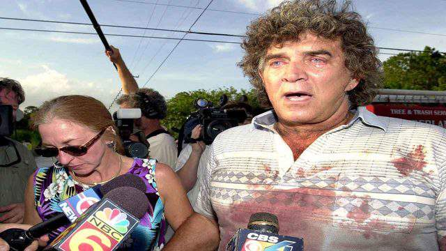 """""""They killed my Bobo,"""" Steve Sipek told reporters July 13, 2004, in Loxahatchee, Florida, after his escaped Bengal tiger was shot to death by a state wildlife officer."""