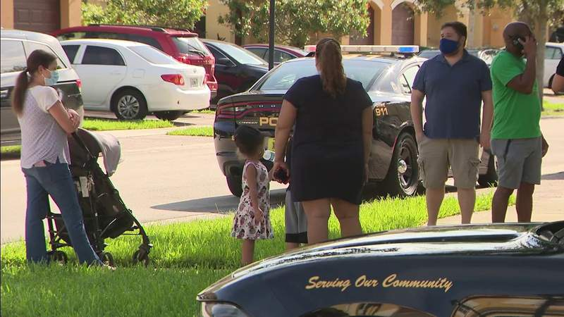 3-year-old found safe in Miramar after she walks out of home.