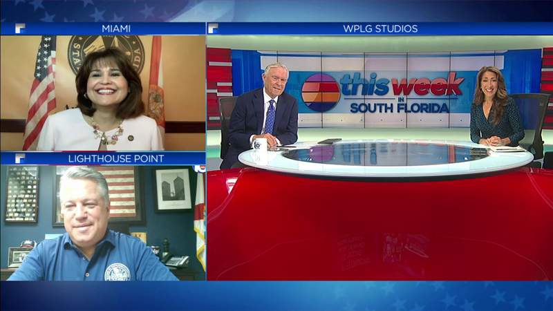 State lawmakers Chip LaMarca and Annette Taddeo join TWISF to discuss Florida Legislative Session