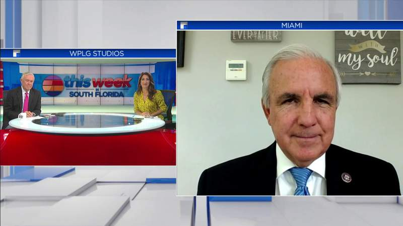 Rep. Carlos Gimenez joins TWISF to discuss bipartisan vote on Jan. 6 commission