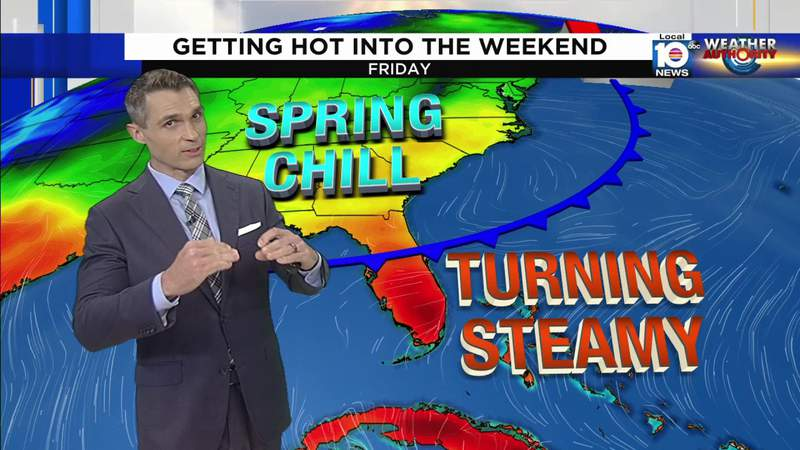 South Florida will have steamy weekend with summer-like temps