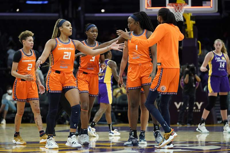 Teams battle for playoff positioning in WNBA's final week