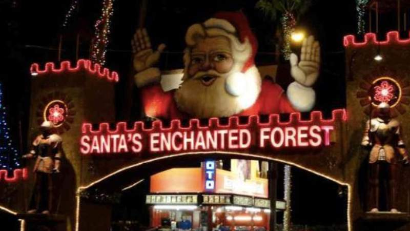 Santa's Enchanted Forest has been open since 1984.