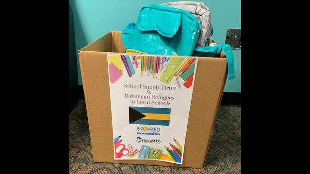 Broward County Public Schools (BCPS) is partnering with Broward County Government to help students displaced by Hurricane Dorian and who are now enrolled in BCPS.