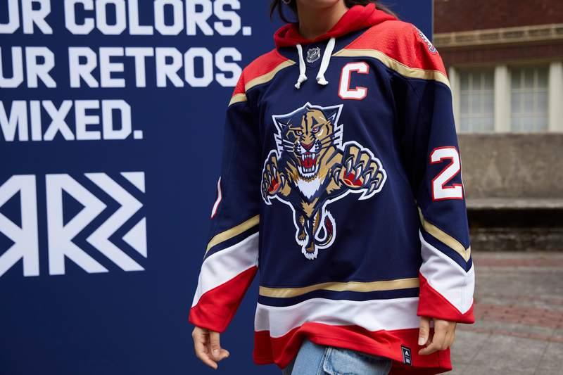 Florida Panthers reveal 'Reverse Retro' jersey.