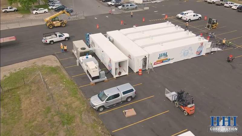 Mobile triage unit was a $2.5 million gift to Jackson Memorial Hospital