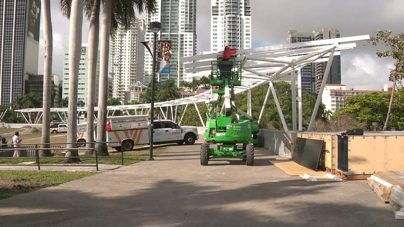 GF Default - Bayfront Park going green, installing solar panels and trees throughout the venue