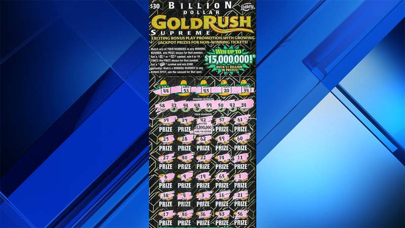 This scratch-off ticket made a Florida man a millionaire.