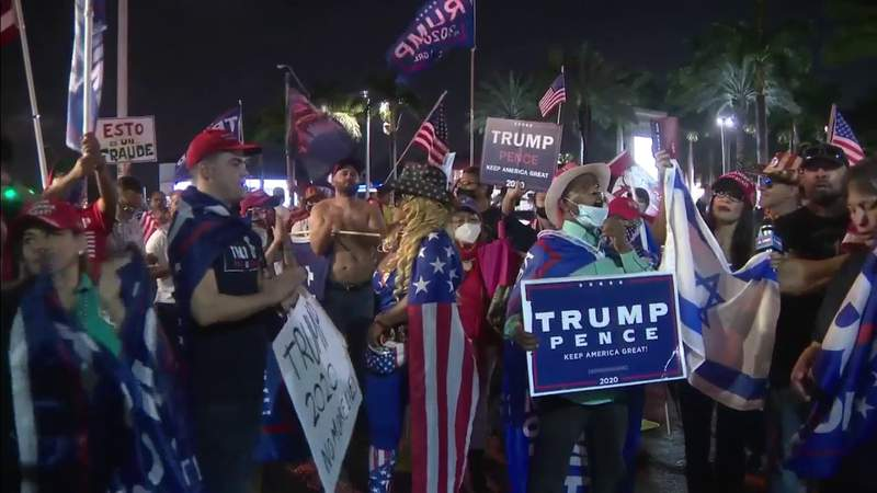 Trump's speech upsets his supporters in Miami-Dade County