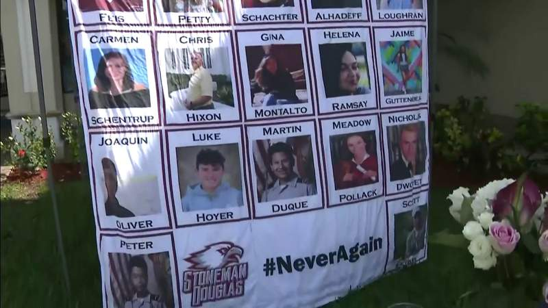 17 victims of Marjory Stoneman Douglas High School massacre remembered 3 years after tragedy
