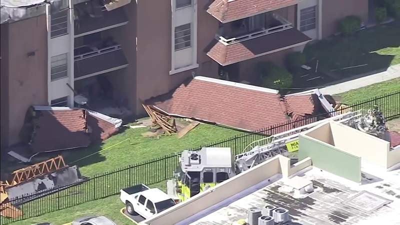 Families fear Miami-Dade building safety after partial roof collapse