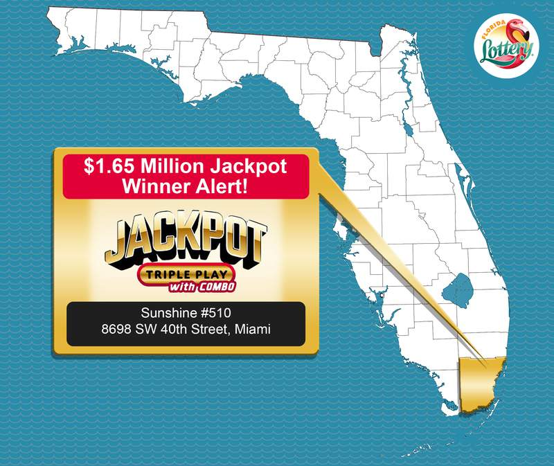 Florida Lottery officials are looking for a jackpot winner in Miami. Is it you?
