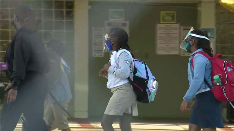 Hundreds of schools across South Florida have reported COVID-19 infections since classes reopened.