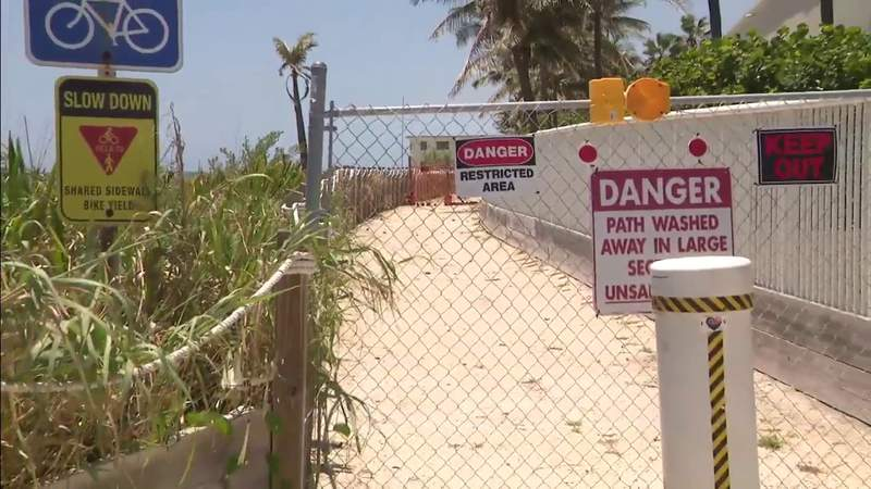 Will a public pathway end up costing Hollywood condo owners to have it reopened?