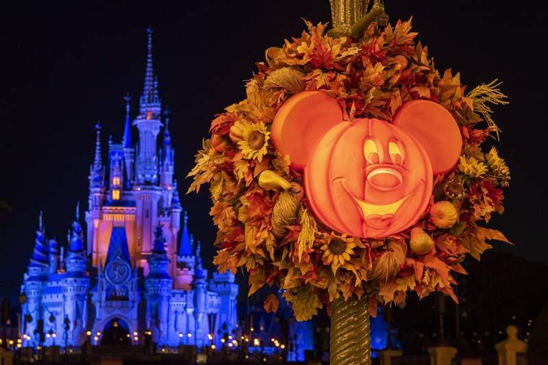 Halloween begins August 10 at Walt Disney World.