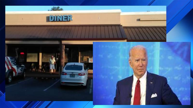 Volusia County restaurant owner asks Biden supporters not to visit her business