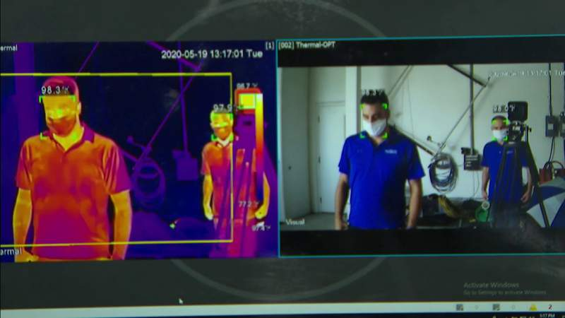 Thermal technology becoming big part of life due to COVID-19