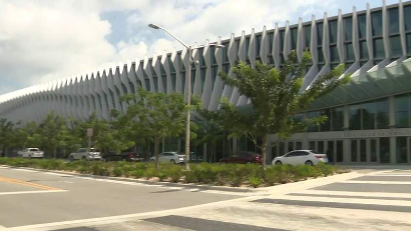 Newly renovated Miami Beach Convention Center being converted into field hospital due to coronavirus pandemic