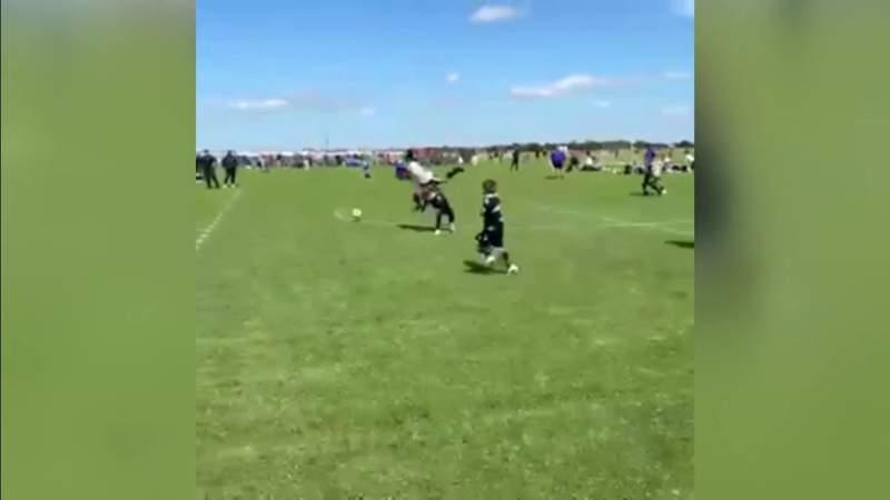 Broward youth soccer player's tackles goes viral