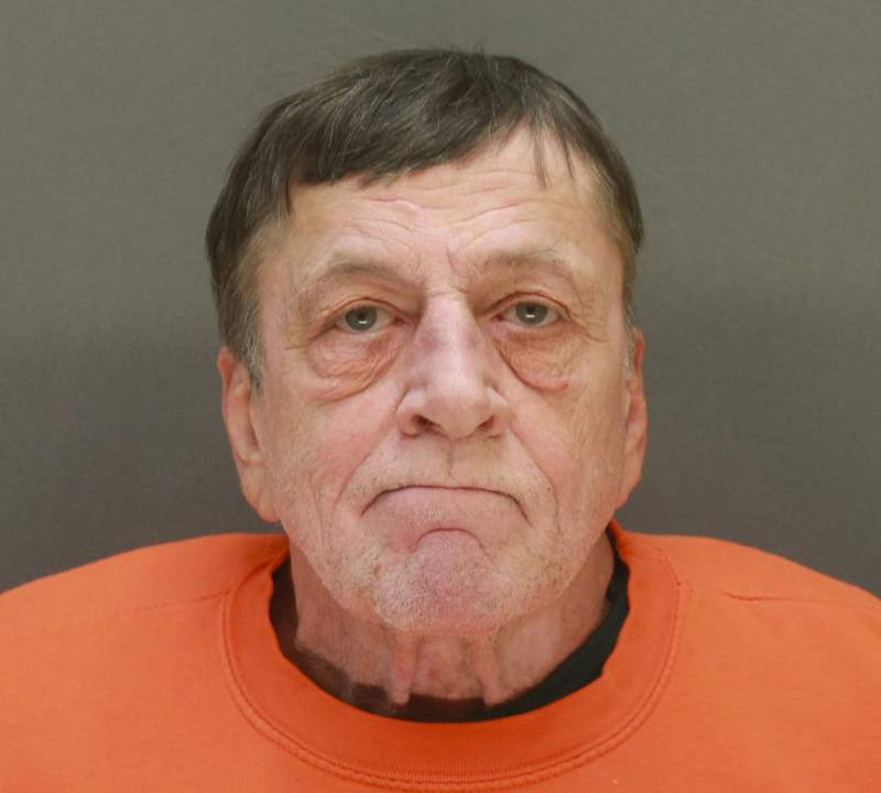 This booking photo released by the Wright County, Minn., Sheriff's Office shows Gregory Paul Ulrich who was arrested Tuesday, Feb. 9, 2021, following a shooting at a health clinic in Buffalo, Minn. Ulrich, unhappy with the health care he'd received, opened fire at a clinic Tuesday, in Buffalo, Minn., injuring five people, authorities said. In addition, bomb technicians were investigating a suspicious device left at the clinic and others at a motel where Ulrich was staying, authorities added. (Wright County Sheriff's Office via AP)