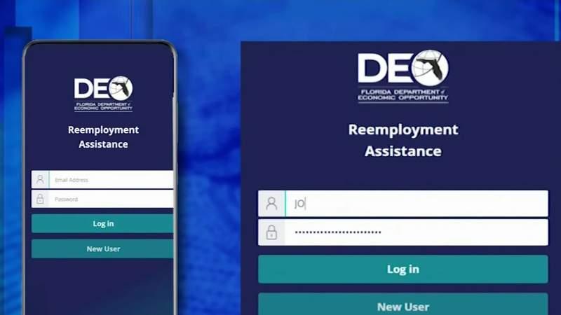 Florida launches new unemployment site