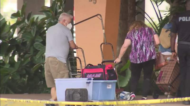 Crestview Towers residents allowed back inside building for second time