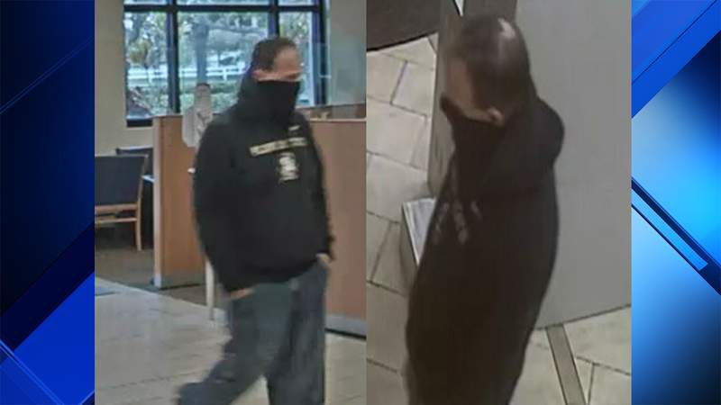 The FBI says this man robbed a bank in Coral Springs on Thursday.