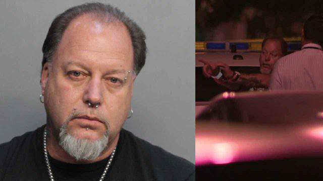 Frank Tumm was arrested on two counts of aggravated assault with a deadly weapon.