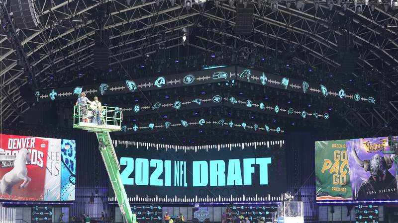 The Latest: Cleveland steps up as newest host of NFL draft