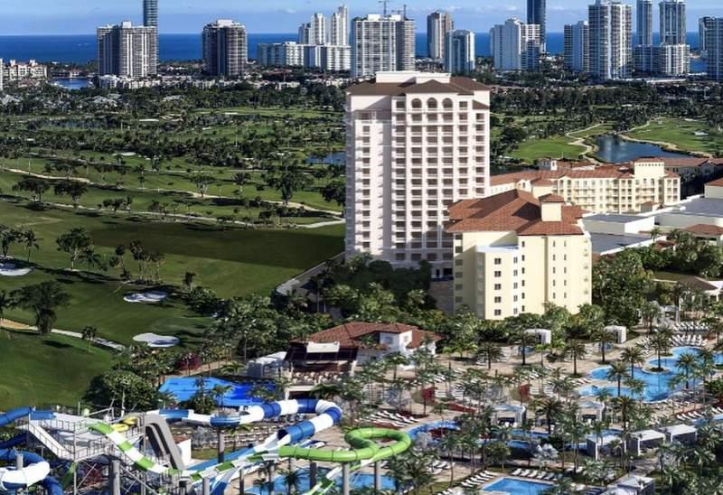 JW Marriott Miami Turnberry Resort & Spa. Photo via Instagram @jwturnberry.