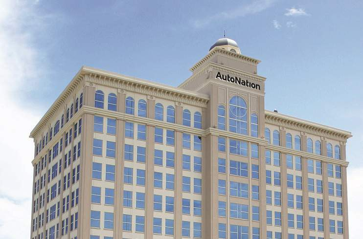 AutoNation is headquartered in downtown Fort Lauderdale.