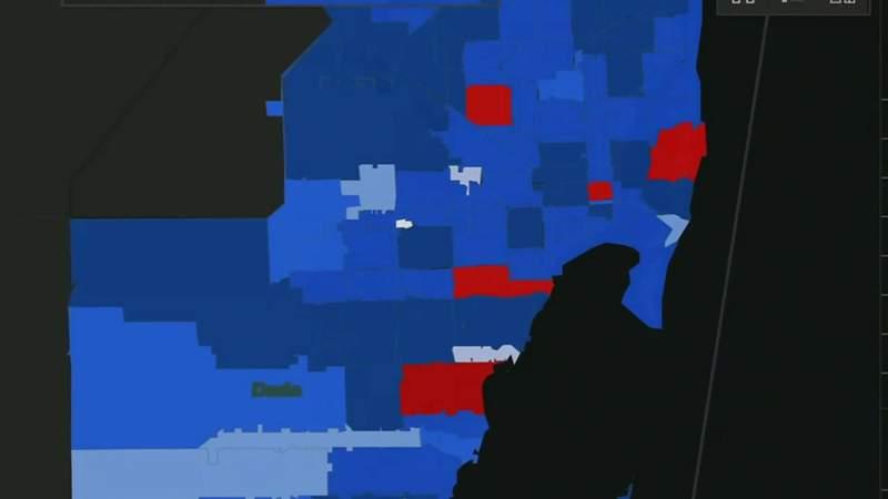 Florida map shows coronavirus numbers by zip code