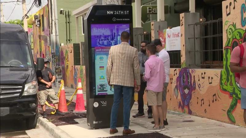 Wynwood gets city's 1st interactive kiosk experience