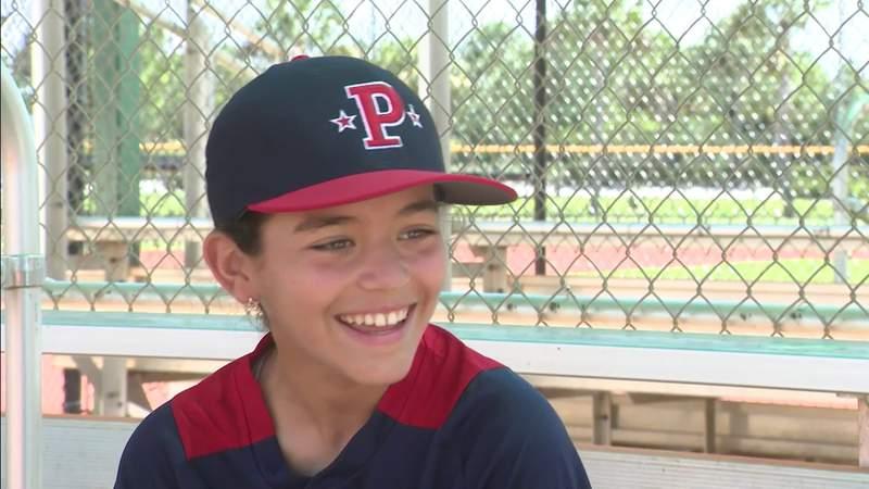 South Florida girl becomes baseball phenomenon