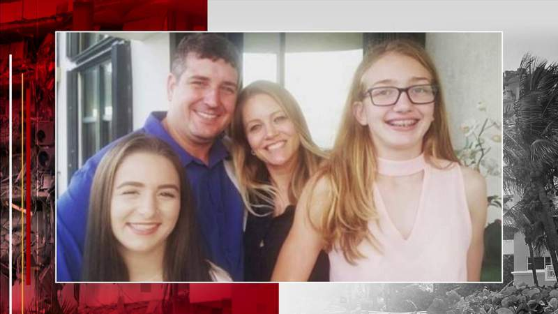 A mother and daughter saved in Surfside while father still missing