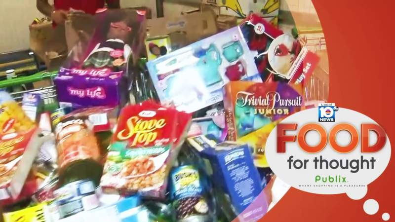 Local 10 teams up with Publix for Food For Thought